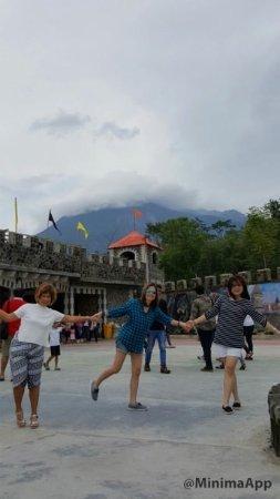 Sleman, Indonesia: Di belakang Gunung Merapi