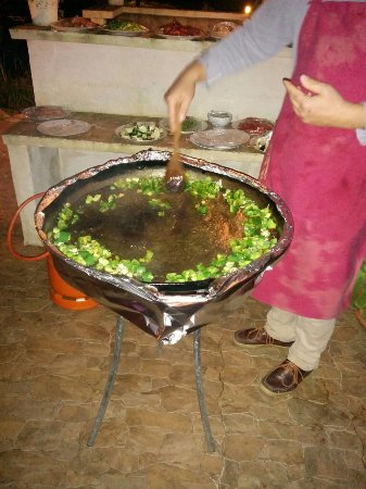 Binissalem, Spain: Timo kocht live Paella