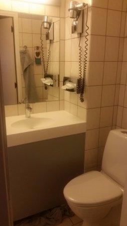 Kastrup, Dinamarca: And small bathroom