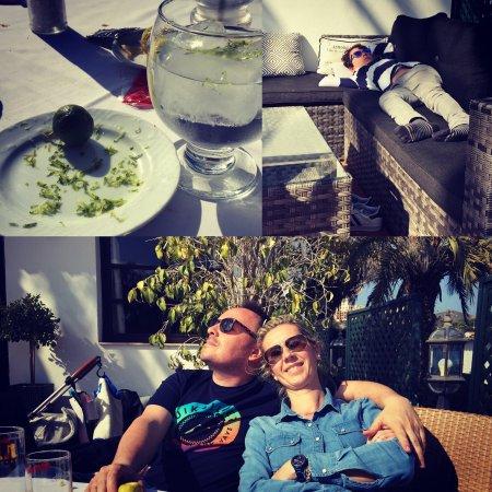 Los Belones, Spanje: Empezamos temporada de sol en el mejor restaurante del club de golf de la manga. Nueva carta y s