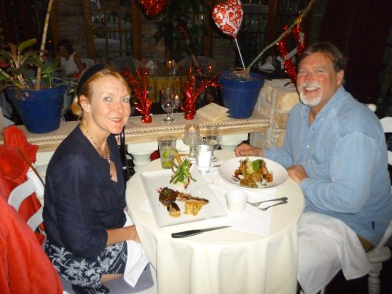 Jensen Beach, FL: The happy couple!!