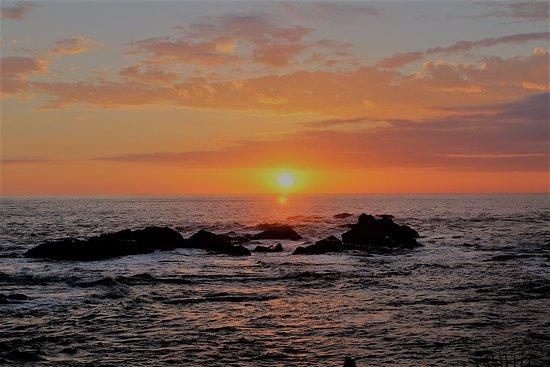 Costa Paraiso: coucher de soleil vu du bar