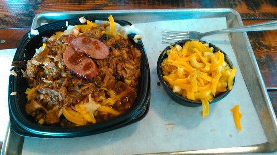 Hudson, Ουισκόνσιν: Memphis Bowl,Mac N' Cheese Side.