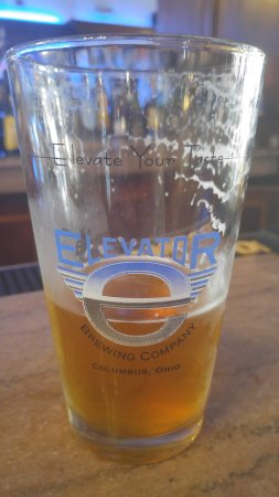 Elevator Brewery & Draught: A half finished Elevator IPA