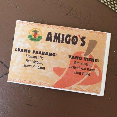 Amigo's Luang Prabang: Amigo's Mexican restaurant in Luang Prabang, Laos