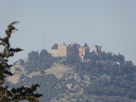 Jerash, จอร์แดน: Vue sur le Fort .