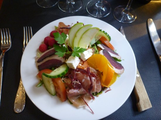 Axat, France: Salade