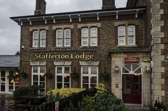The entrance to The Stafferton Lodge Toby Carvery, Maidenhead.