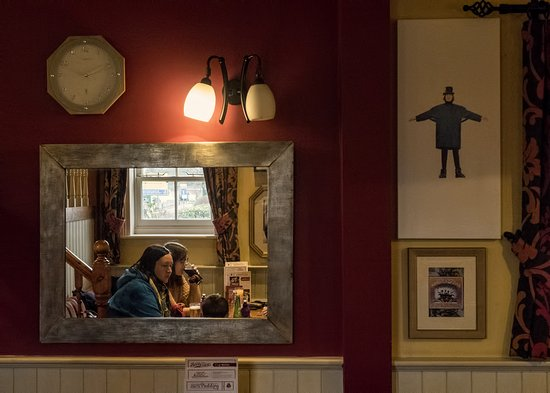 Maidenhead, UK : There's quite a bit of Beatles memorabilia in this place.