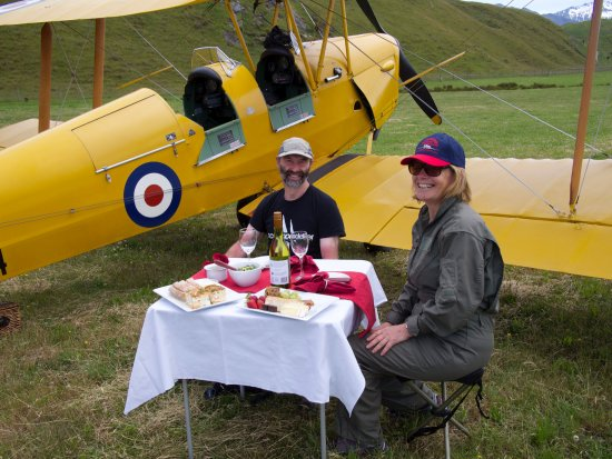 Classic Flights: Delicious aeronautical picnic