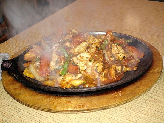 วินิตา, โอคลาโฮมา: Chicken Fajitas