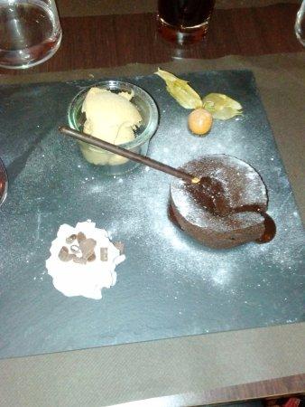 La Belle Epoque: Fondant au chocolat , un délice !!