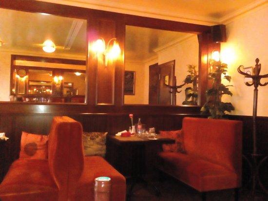 La Belle Epoque: L'intérieur du restaurant