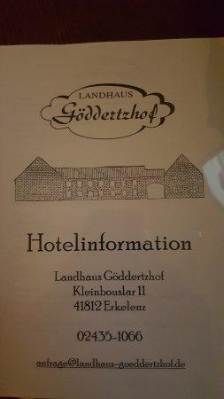 Foto de Landhaus Goeddertzhof