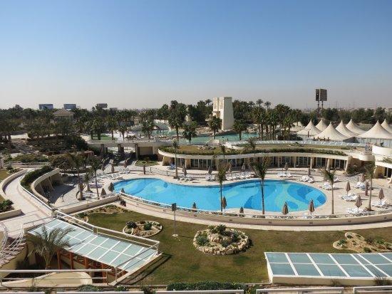 JW Marriott Hotel Cairo: vue depuis une chambre