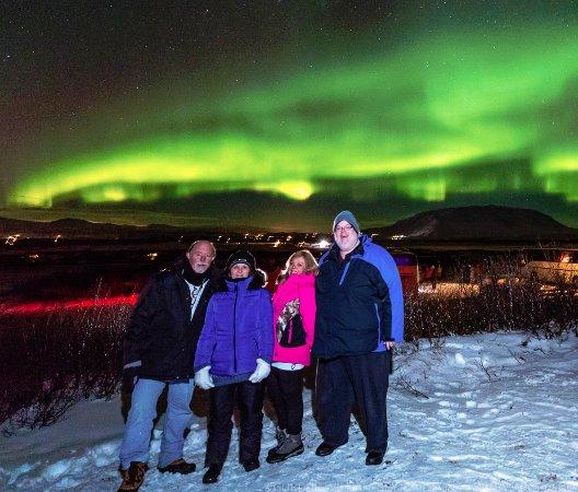 Hafnarfjordur, Iceland: You tell me, do you think we are happy? :)