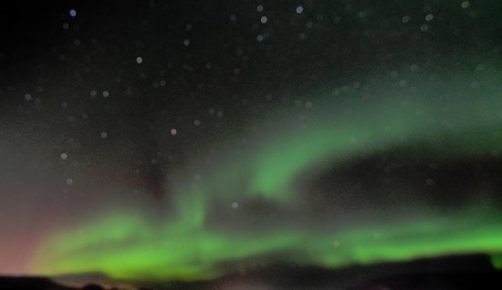 Hafnarfjordur, Iceland: They fill the sky across the entire horizon. It will change the way you look at the world!