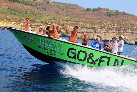 Bugibba, Malta: Speed boat for day charter