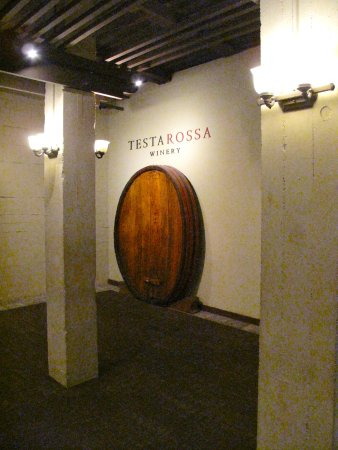 Testarossa Winery - Los Gatos - Historic barrel sign