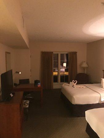 Many, LA: golf villa bedroom
