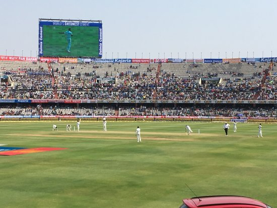 ‪Rajiv Gandhi International Cricket Stadium‬