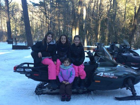 Lake Vanare Snowmobile Tours