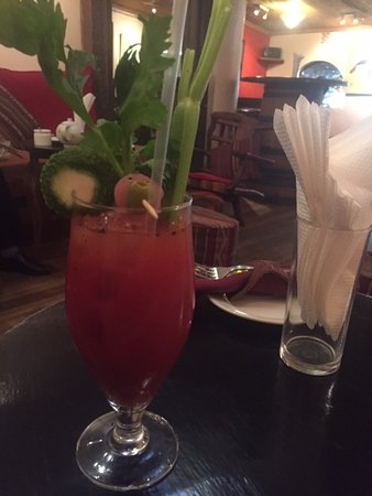 The Talisman: bloody mary does the trick for brunch