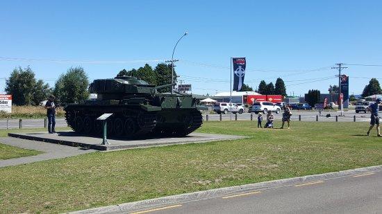 outside view from Waiouru Museum