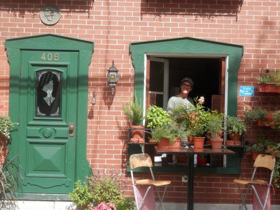 Maison La Chapeliere : Quel accueil! Merci Claude nous reviendrons en hiver....