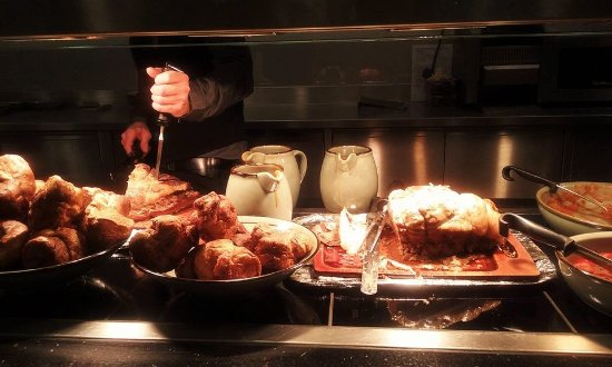 Forres, UK: Just some of the carvery food.