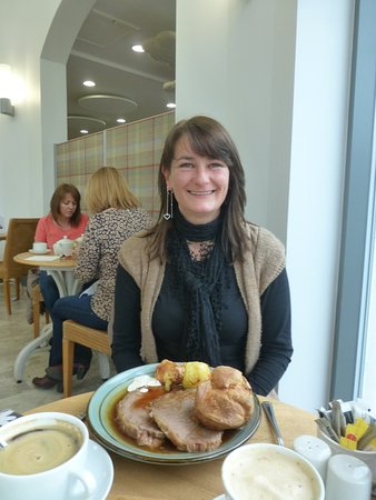 Forres, UK: Me and my meal, very happy :)