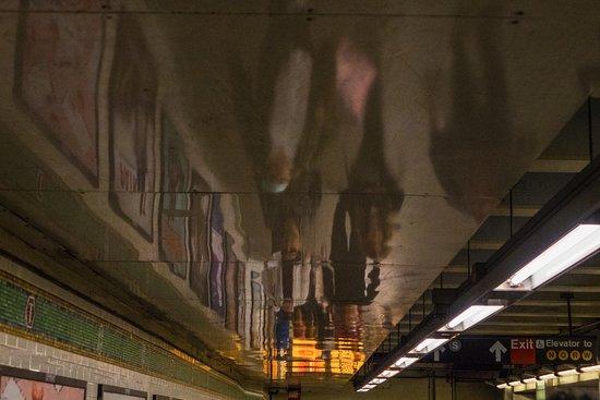 Princeton, NJ: Subway Reflections