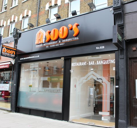 Asoo S Indian Restaurant In North Finchley London