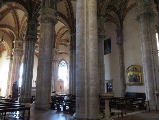 Pienza, Italy: l'interno