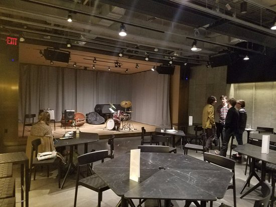 Oberlin, OH: Live performance space / lounge in basement.