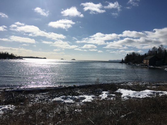 Sleeping Giant Provincial Park: Silver islet