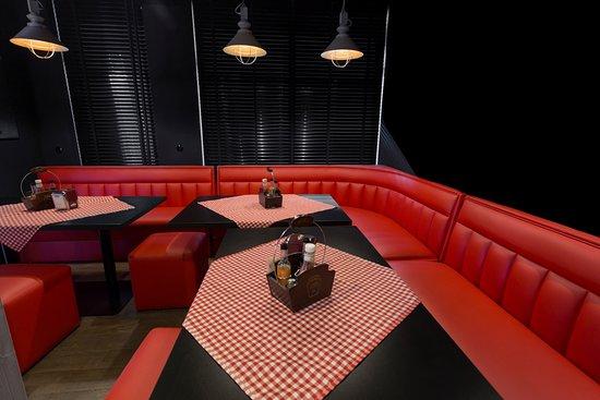Wnętrze Chicago - loża VIP