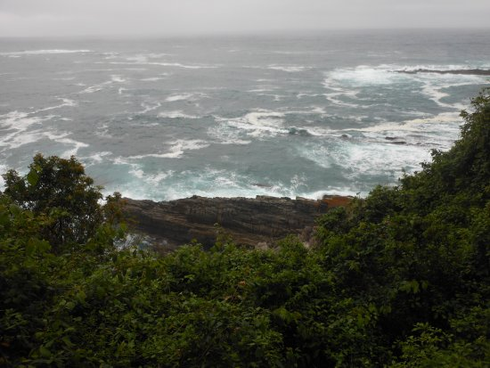 Storms River, South Africa: view to the sea