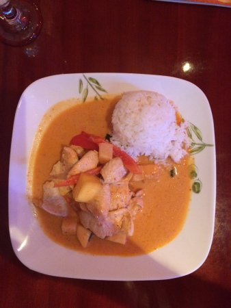 Rensselaer, Estado de Nueva York: Mango Curry Chicken