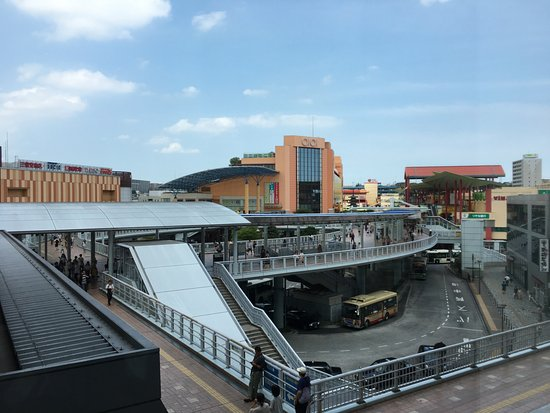 Ebina, Japan: View from our booth.