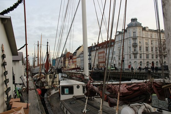 Nyhamn, Sweden: View of the tall ships