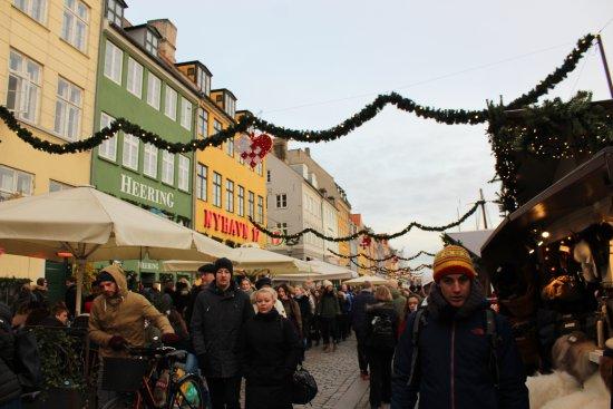 Nyhamn, Sweden: Street markets