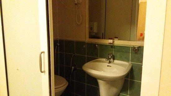 Hotel Alius: bathroom