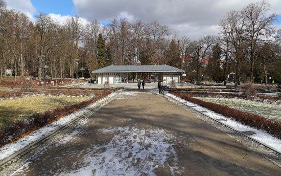 Polanica Zdrój, Polska: zdjęcie w kierunku altany