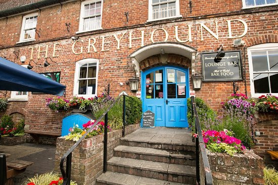 Blandford Forum, UK: The Greyhound