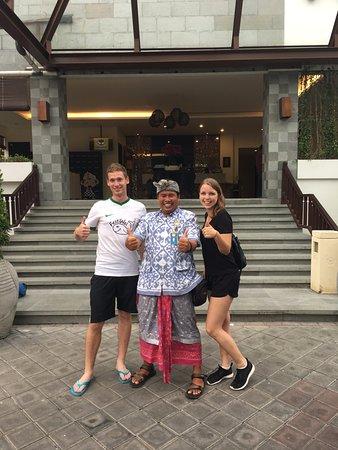 Agus Bali Private Tours: Wir und Agus - Danke für den Tag!