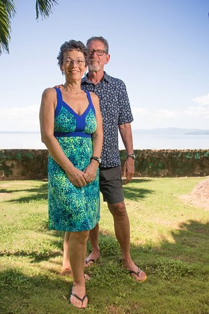 Saladero Eco Lodge: Owners Harvey and Susan