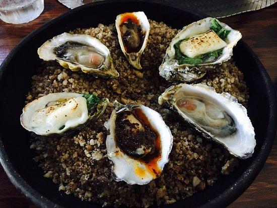 Manzanilla: Oyster Combination
