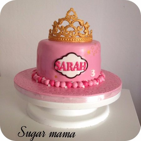 Sugar Mama Cake Design Birthday De Princesse