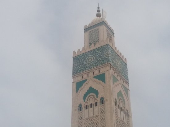 Hassan II Mosque: impressive construction